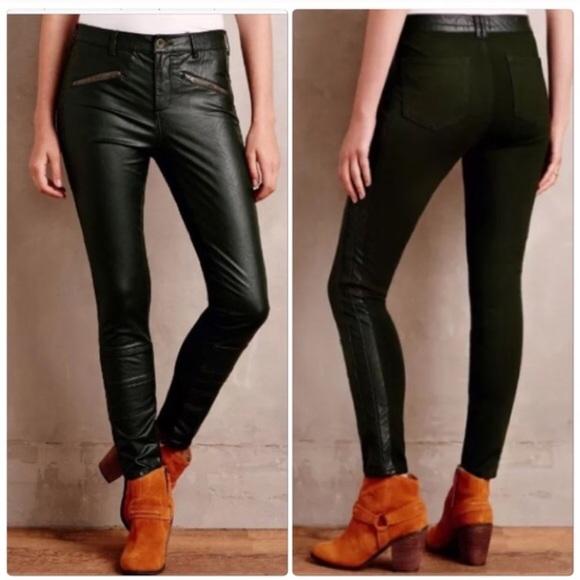 971eb93f9bdedd Anthropologie Pants - Anthropologie Pilcro Letterpress Faux Leather Pant